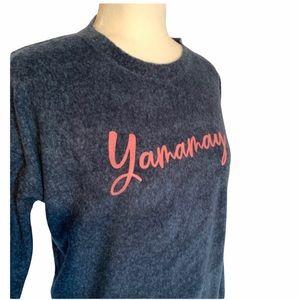 Yamamay Women's Long Sleeve Fleece Top M